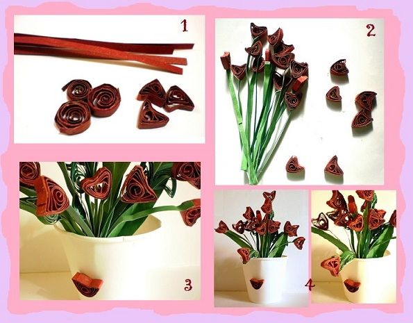 How to make flower vase with waste paper howsto co for Handmade flower vase with waste material